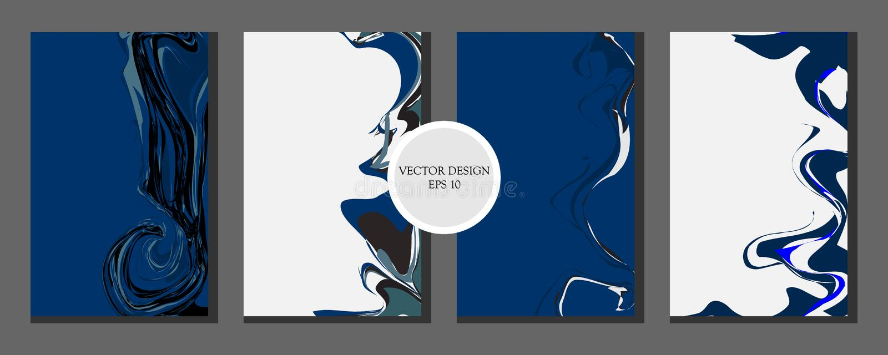 Ciecz tekstury marmurowy projekt Lekki kolor abstrakcjonistyczny kolorowy sk?ad Mikstura akrylowe farby Rzadkopłynna sztuka - wek ilustracja wektor