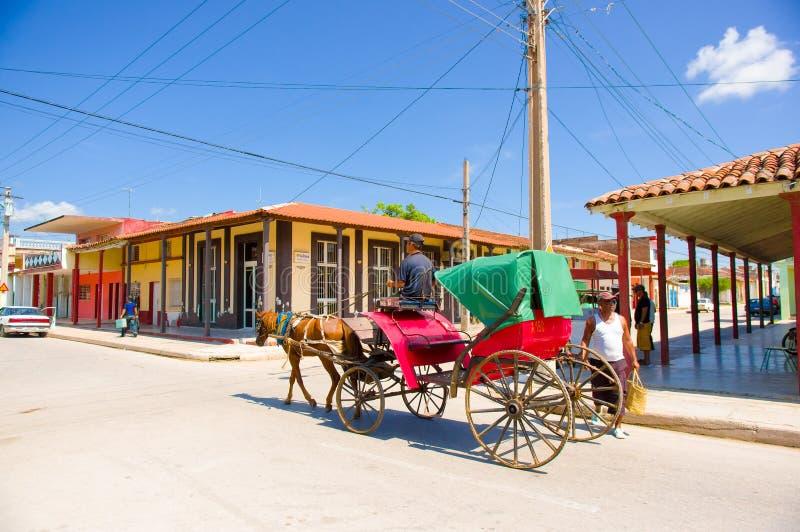 CIEGO DE ÁVILA, CUBA - 5 DE SEPTIEMBRE DE 2015: Céntrico imagenes de archivo