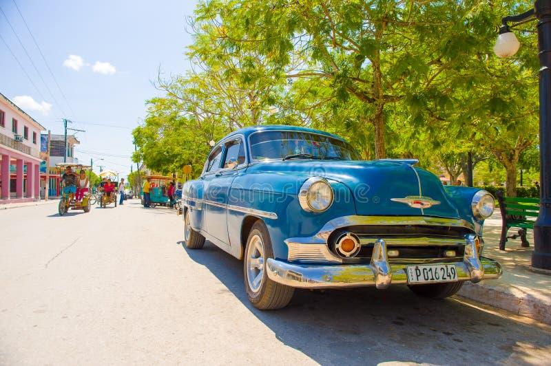 CIEGO DE ÁVILA, CUBA - 5 DE SEPTIEMBRE DE 2015: Céntrico fotografía de archivo
