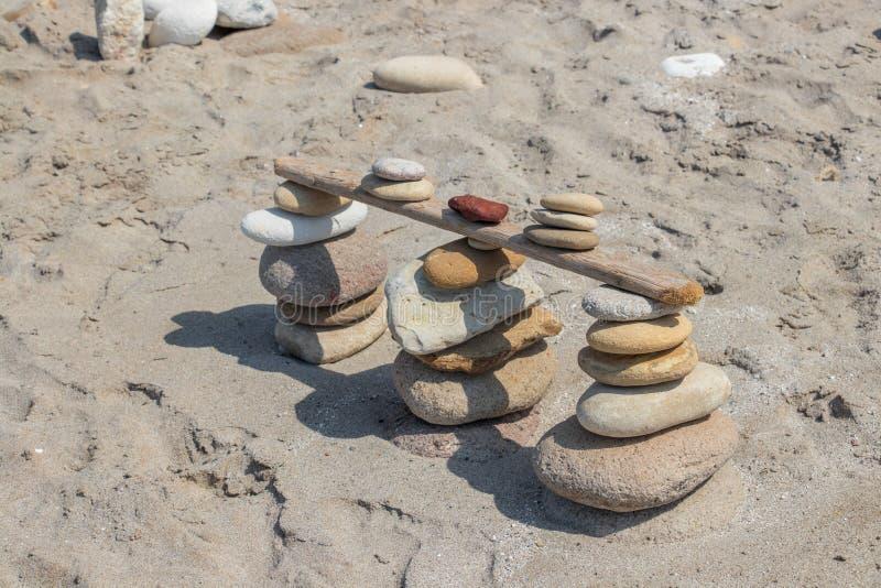 Ciekawa rockowa rzeźba na Milos wyspie obrazy stock