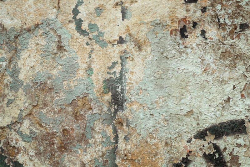 Ciekawego grunge tła stara ściana obrazy royalty free