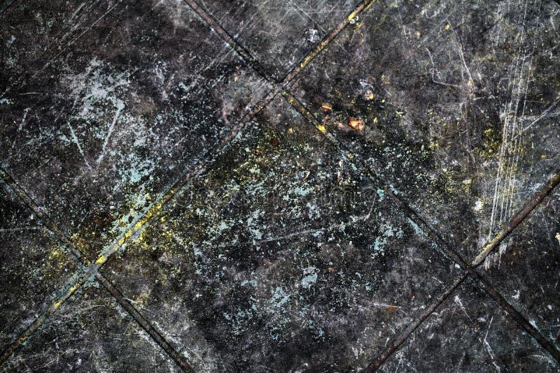 Ciekawy textured tło, obrazek stara klingerytu stołu powierzchnia obraz royalty free