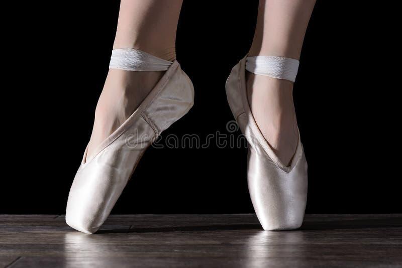 Cieki dancingowa balerina fotografia stock