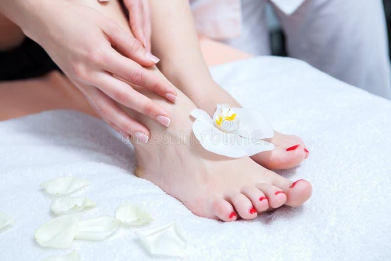 cieki masaży dostawanie obraz royalty free