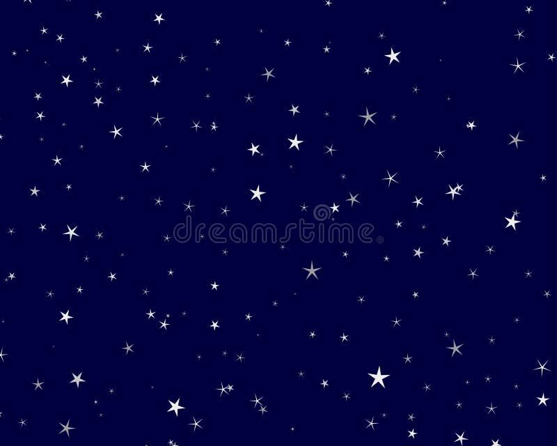 ciel étoilé illustration de vecteur