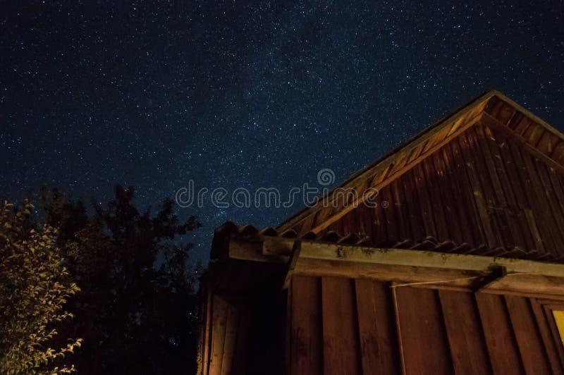 Ciel étoilé merveilleux photo stock