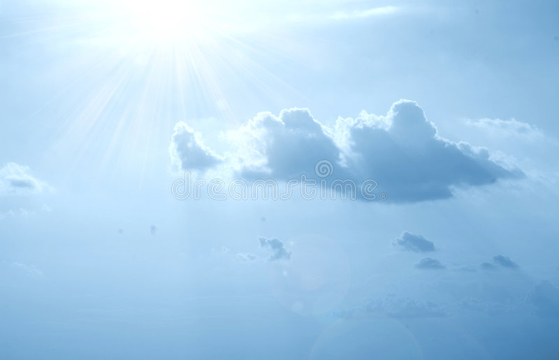 ciel photos libres de droits