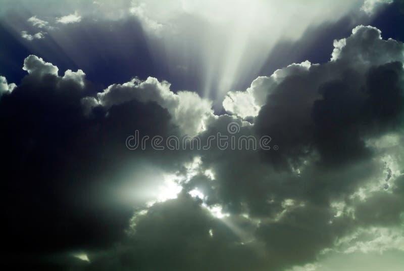 Ciel après tempête photographie stock libre de droits