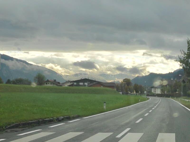 Ciel autrichien photographie stock