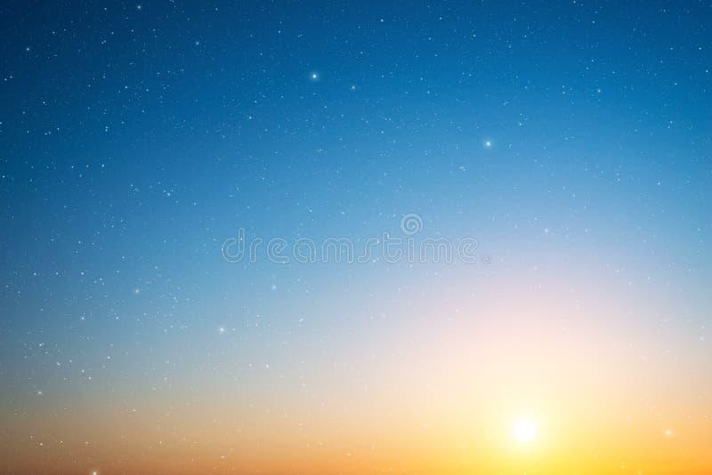 Ciel avec des étoiles photo libre de droits