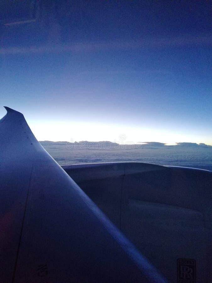 Ciel, avion photos stock