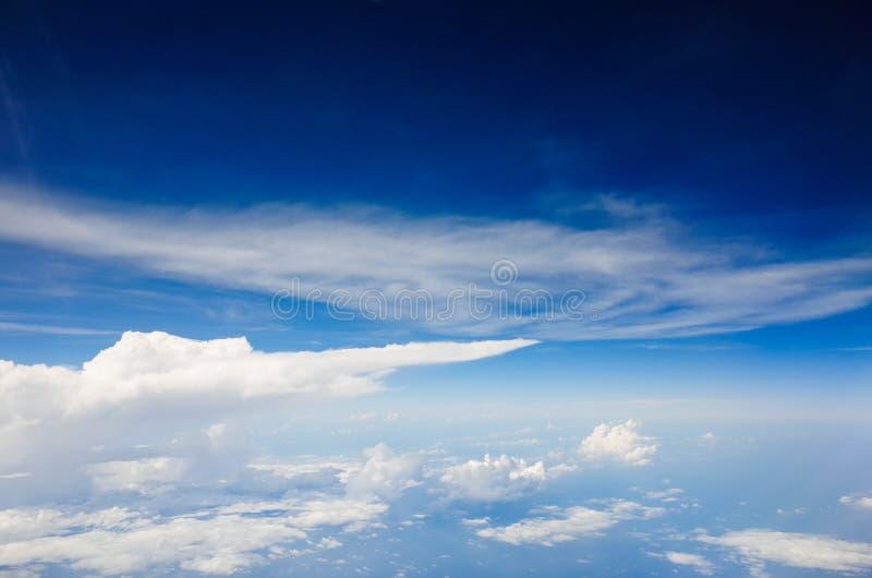 Ciel azuré photo stock