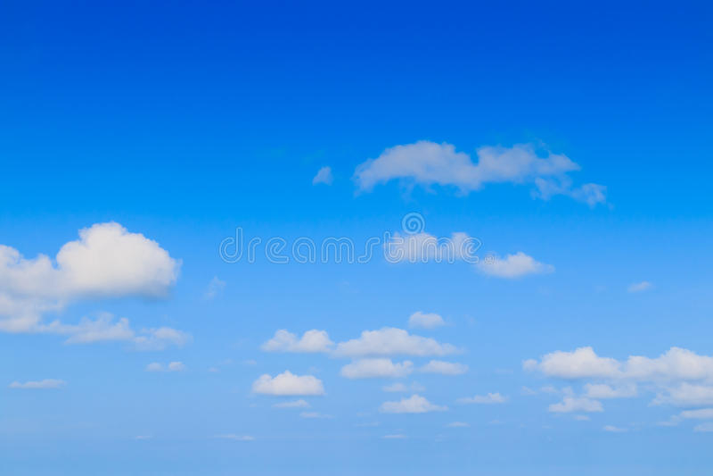 Ciel bleu images libres de droits