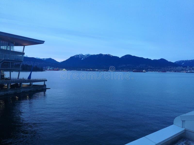 Ciel bleu de Canada de Vancouver photos libres de droits