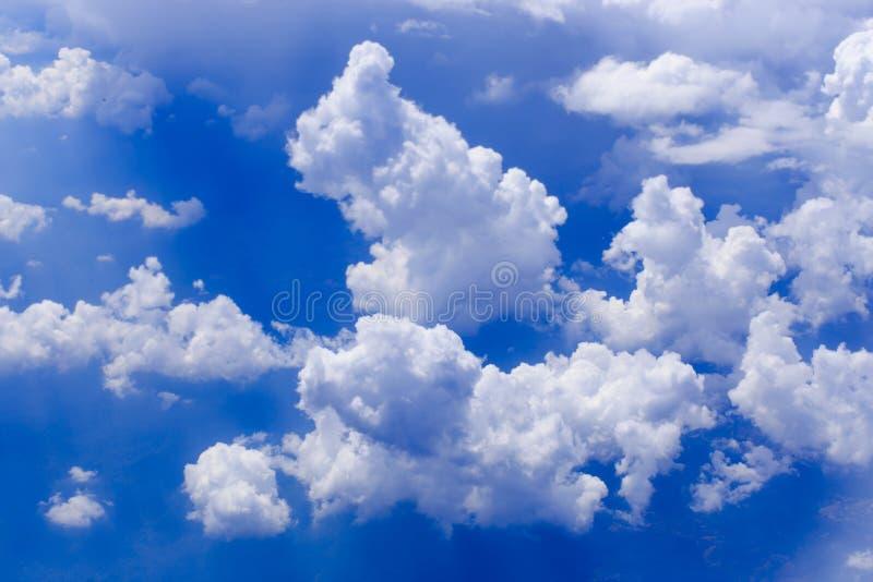 ciel bleu de nuage image libre de droits