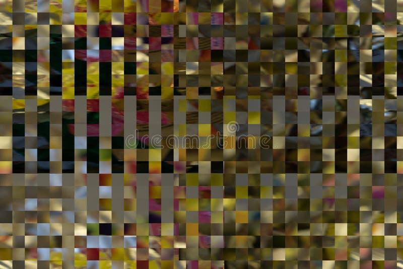 Ciel bleu derrière le fond de texture en verre givré image stock