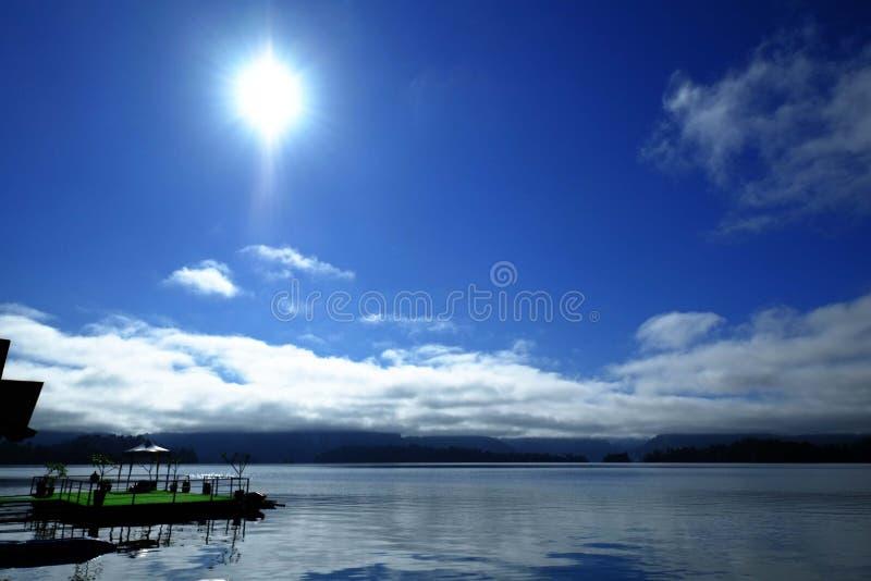 Ciel bleu en ?t? photographie stock libre de droits