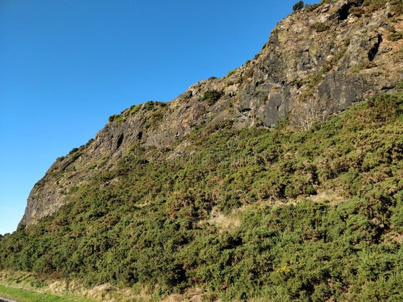 Ciel bleu pur générique de formation de roche photographie stock libre de droits