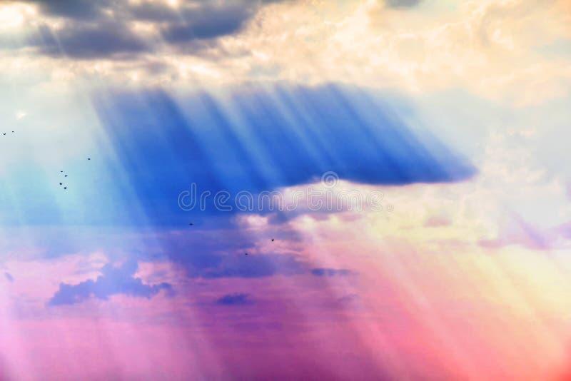 Ciel coloré photos libres de droits