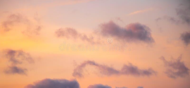 Ciel, coucher du soleil, nuage image libre de droits