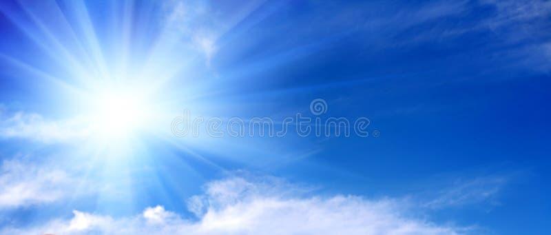 Ciel couvert de nuages photo stock