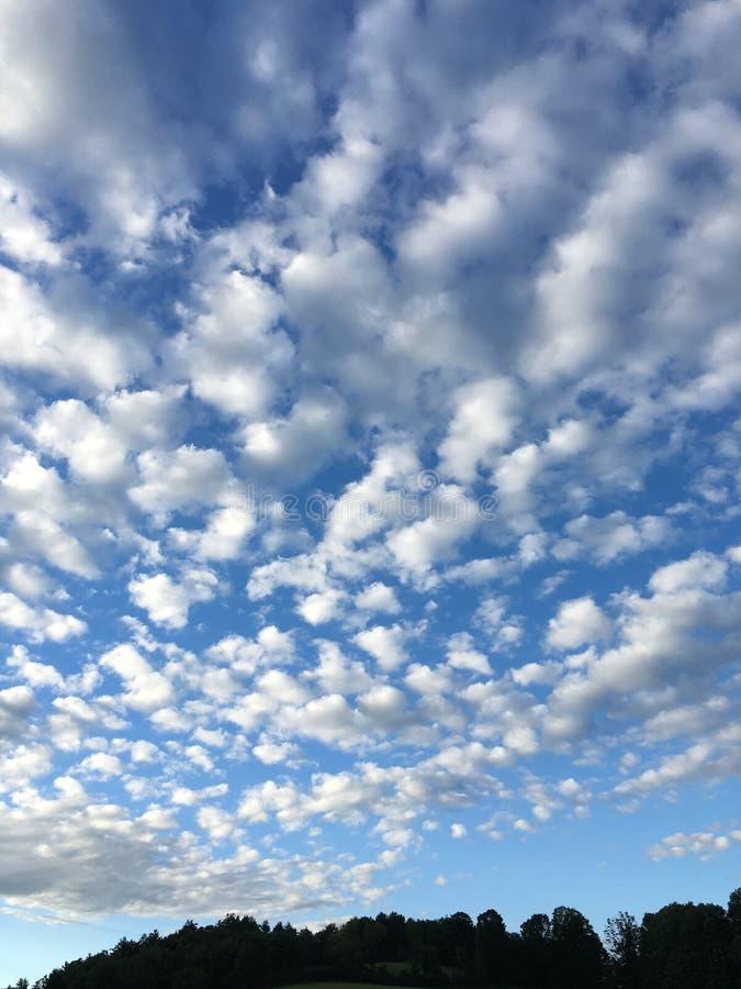 ciel d'été images stock