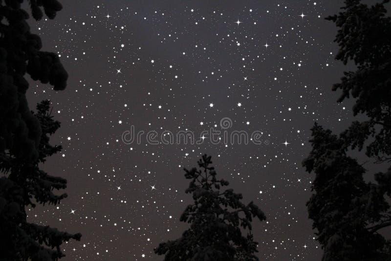 Ciel d'étoile photos stock