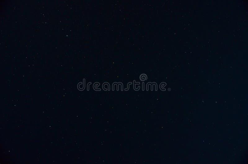 Ciel d'étoile de nuit photographie stock libre de droits