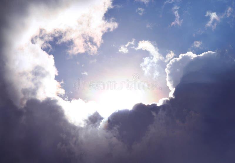 Ciel d'espoir images stock
