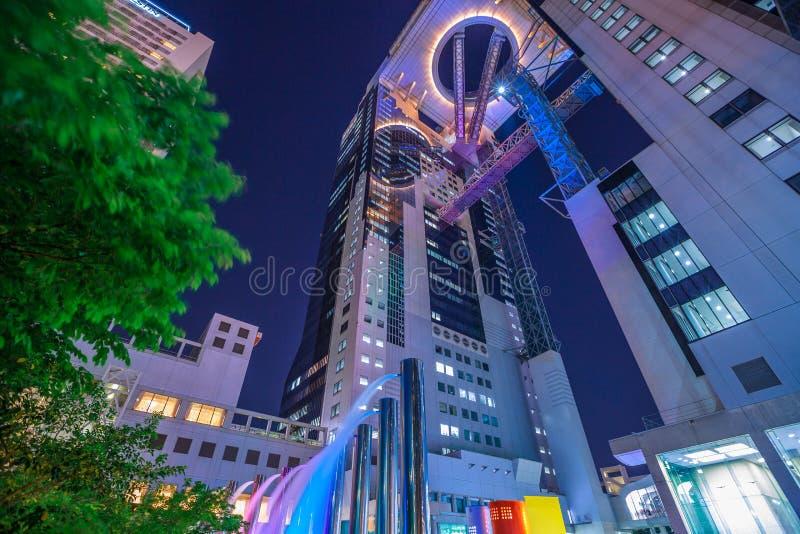Ciel d'Umeda construisant Osaka photo libre de droits