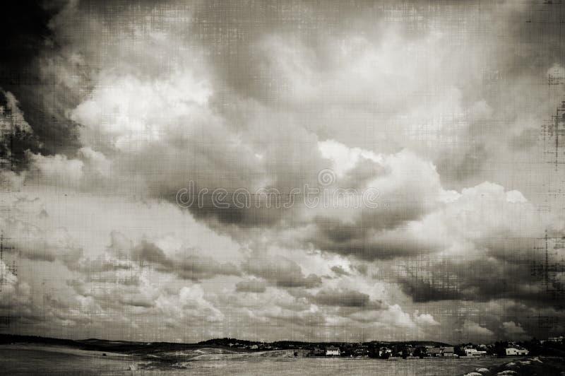 Ciel de B&W photos libres de droits