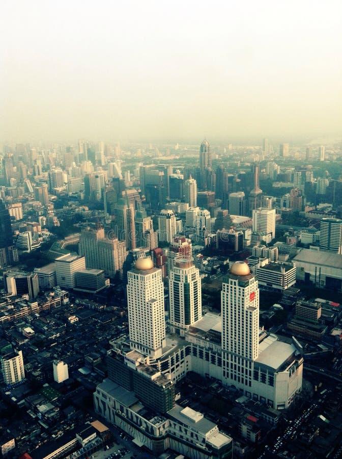 ciel de baiyok de frome de vue photos libres de droits