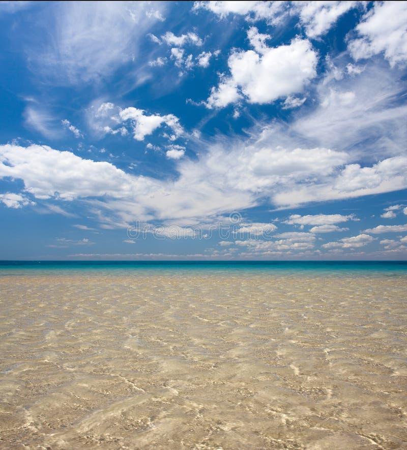 ciel de mer photo libre de droits