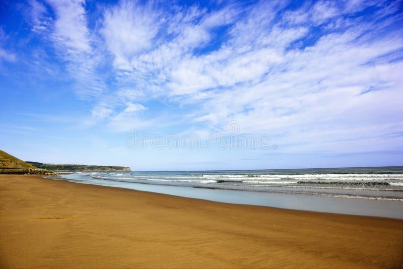 ciel de mer de sable images stock