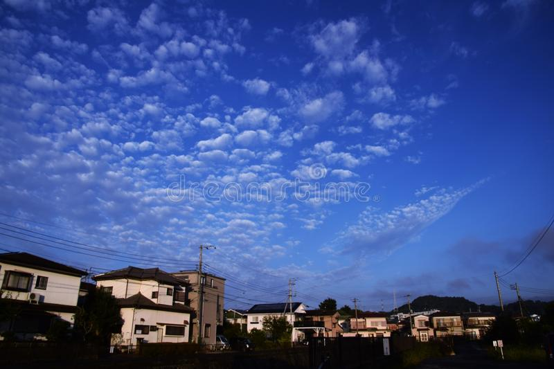 Ciel de Moning images stock