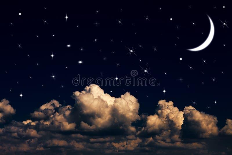 Ciel de nuit images libres de droits