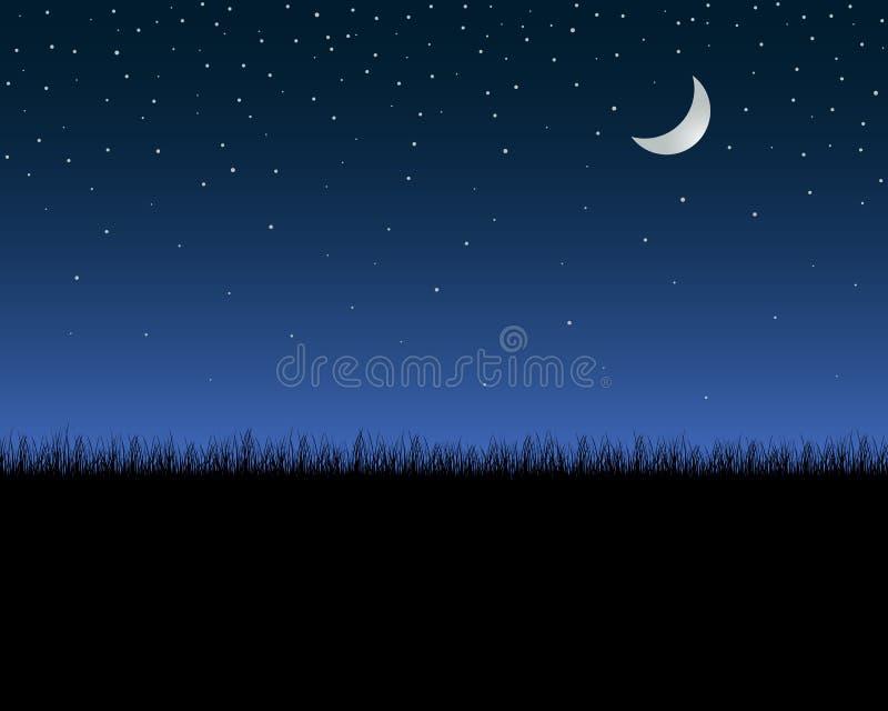 Ciel de nuit illustration libre de droits