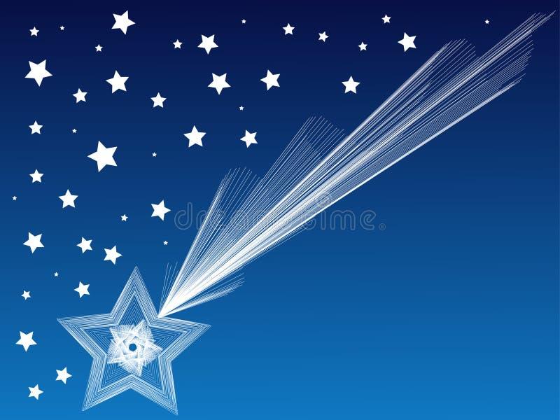 ciel de nuit illustration de vecteur