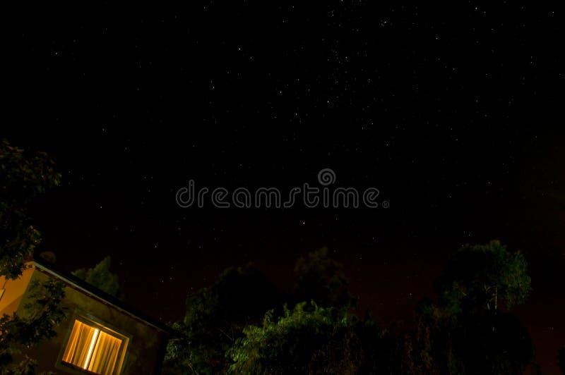 Ciel de nuit photos stock