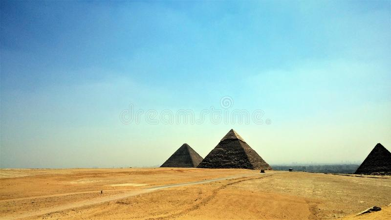 Ciel de pyramide photos libres de droits