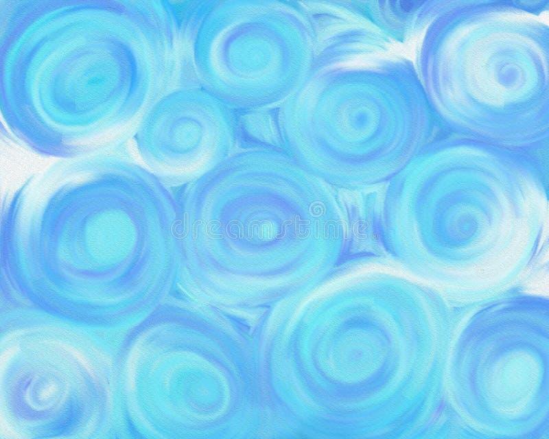 Ciel de Swirly photos stock