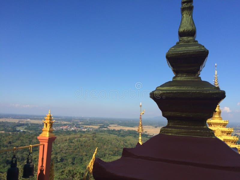 Ciel de temple images libres de droits