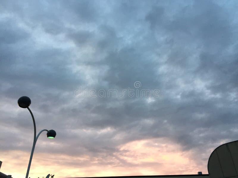 Ciel de ville photo stock