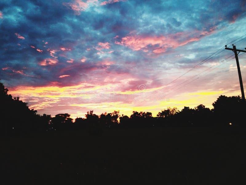 Ciel donné par Dieu photo stock