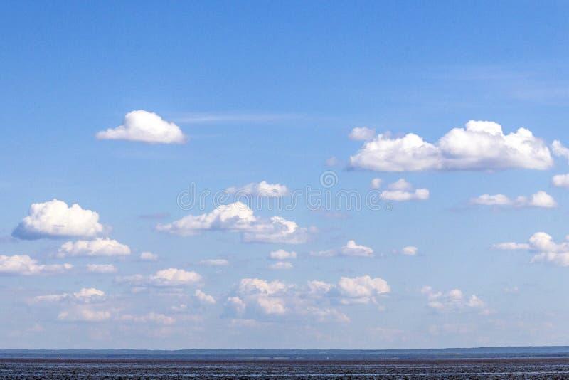 Ciel du lac Supérieur photographie stock