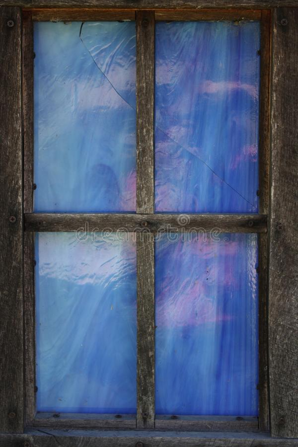 Ciel en verre souillé photographie stock libre de droits