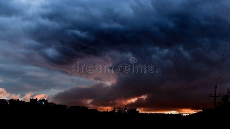 Ciel et civilisation photos stock