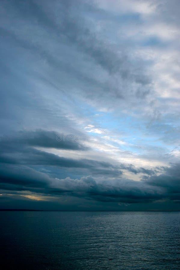 Ciel et mer photographie stock libre de droits
