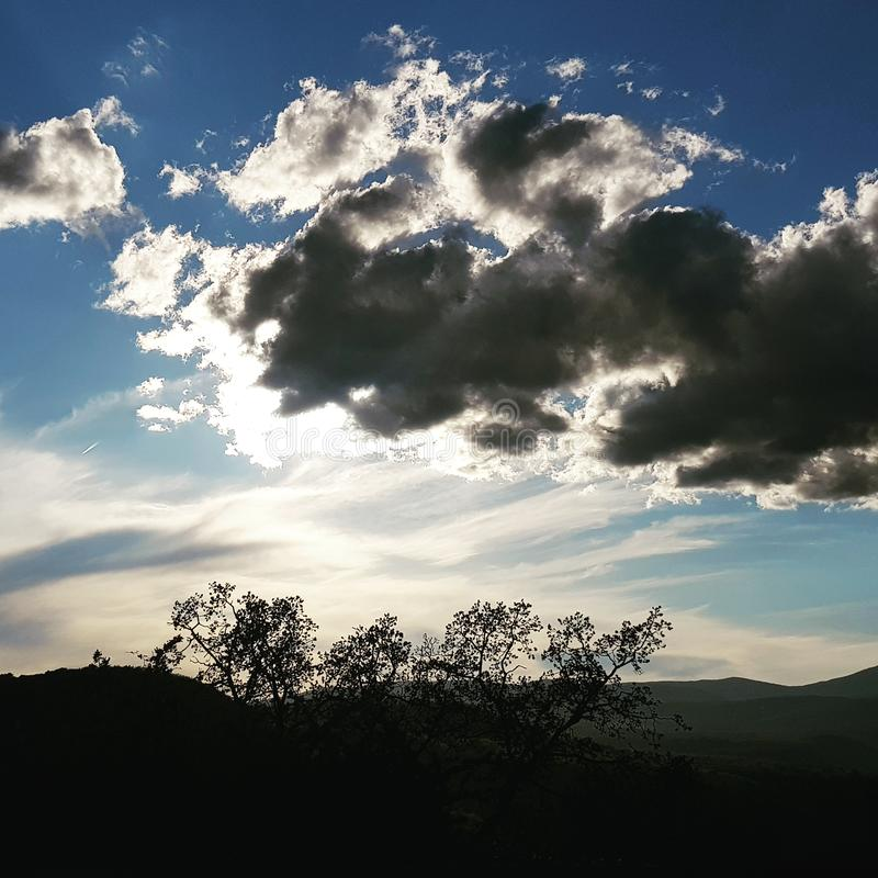 Ciel et nuage photo libre de droits