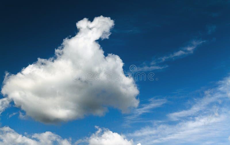Ciel et nuages de contraste photo libre de droits